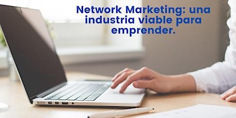 Network Marketing: una industria viable para emprender. boletos