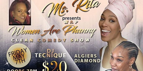 Ms. Rita (WAP) Women Are Phunny Comedy Show tickets