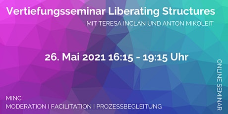 Vertiefungsseminar Liberating Structures Tickets