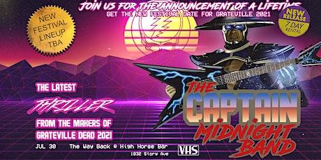 Grateville Presents: Electric Garden/Captain Midnight @ High Horse Bar tickets