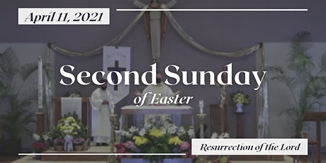 2nd Sunday of Easter (6:00 PM) tickets