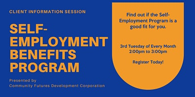 WorkBC Self-Employment Benefits Program Information Session