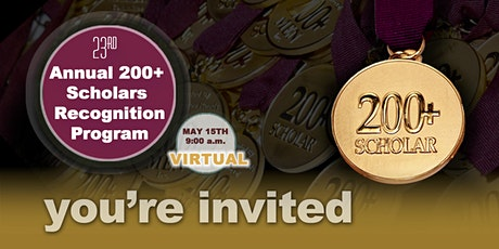 200+ Scholars Recognition Program tickets