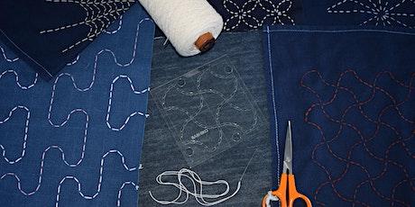Sashiko Stitching Workshop tickets