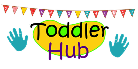 Toddler Hub Session 1 - Wednesday 21st April 2021 - 9.30-10.15am tickets