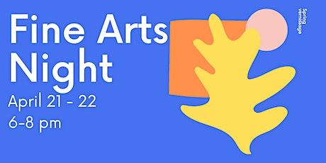 Fine Arts Night tickets