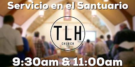Servicio en el Santuario | Domingo 11 de Abril entradas