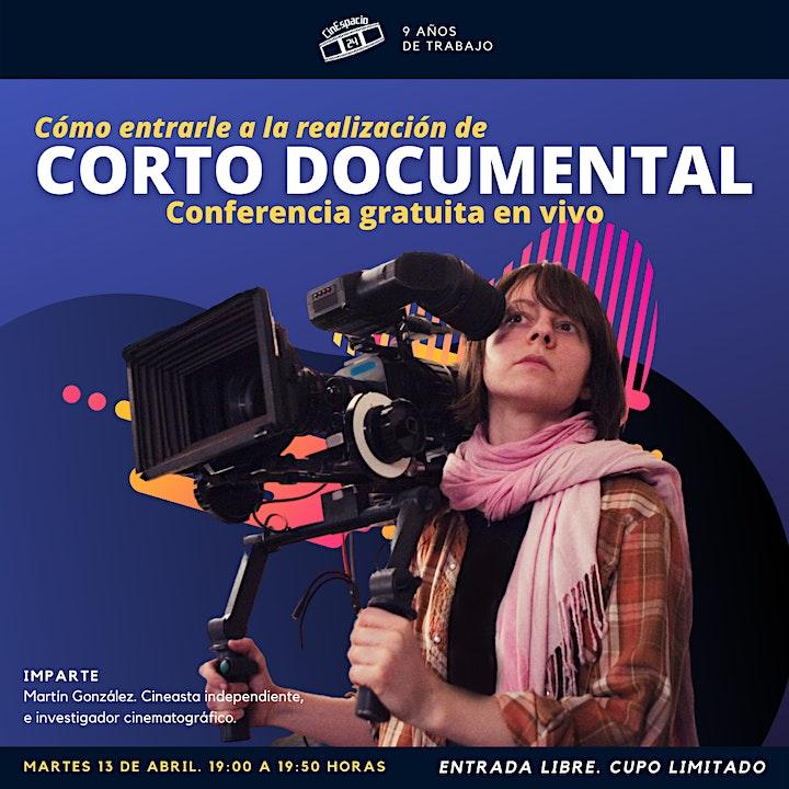 Imagen de Masterclass gratuita: Cómo entrarle a la Realización de corto documental