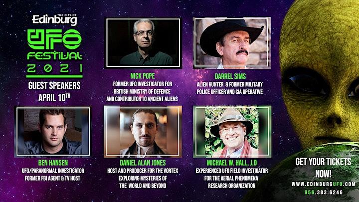 Edinburg UFO Festival 2021 Conference image