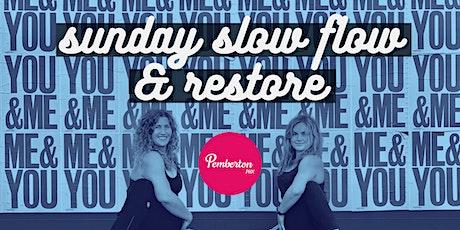 Sunday Slow Flow & Restore Yoga tickets