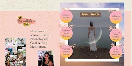 New Moon in Taurus Magic Manifesting neurological  goal setting ceremony tickets