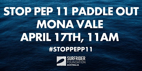STOP PEP 11 Paddle Out - MONAVALE tickets