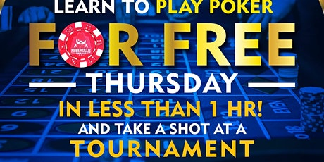 FREE Poker Class tickets