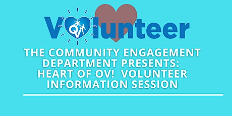 Heart of OV -  Volunteer Information Session tickets