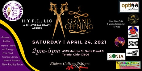 Grand Opening Event for H.Y.P.E., LLC tickets