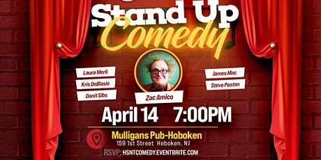 Mulligan's Hoboken Stand Up Comedy Night tickets