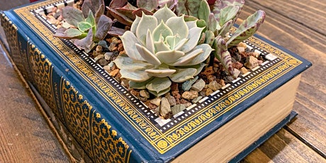 Succulent Book Planter Workshop tickets
