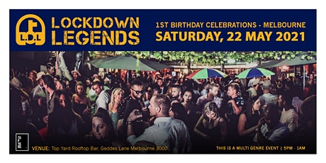 Lockdown Legends - May Madness tickets
