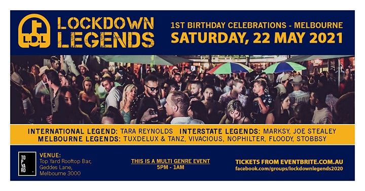 Lockdown Legends - May Madness image