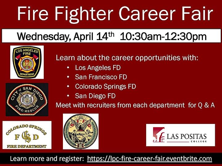 Fire Service Career Fair -- Las Positas College image