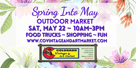 Spring into May Outdoor Market tickets