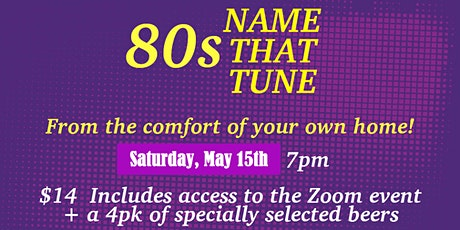 80s Name That Tune - Mahogany/Copperfield Community Association tickets
