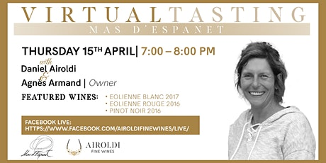 Virtual Tasting with Mas d'Espanet tickets
