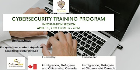 Information Session about Cybersecurity Training Program tickets