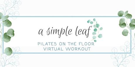 Pilates on the Floor tickets