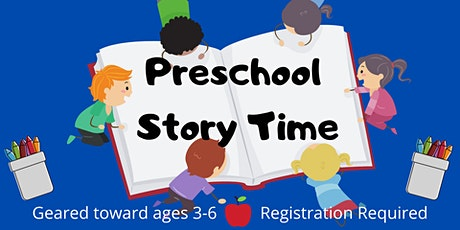Preschool Story Time tickets
