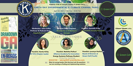 EARTH DAY Environmental & Climate Change Panel tickets