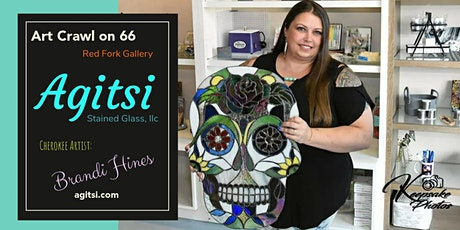 Agitsi Stained Glass @ Art Crawl on 66 Event tickets