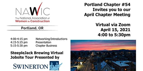 NAWIC Portland - April Chapter Meeting tickets