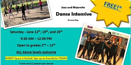 Free 1-Day Dance Intensive tickets