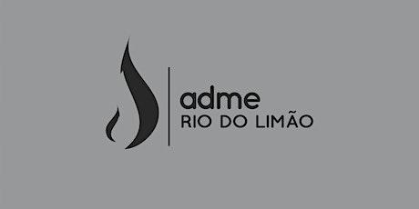 CULTO  DE DOMINGO | 11/04 | ADME RIO DO LIMAO ingressos