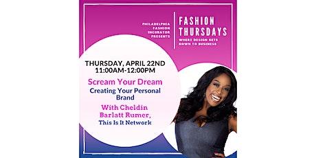 Fashion Thursdays with Cheldin Barlatt Rumer tickets