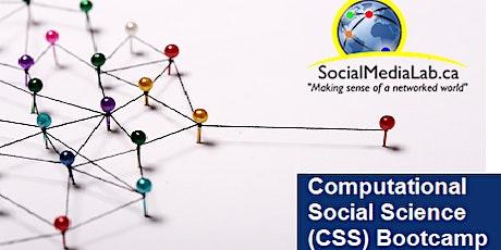 Social Media Lab's Computational Social Science (CSS) Bootcamp tickets