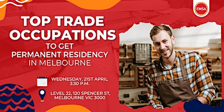 Top Trade Occupations to get PR in Melbourne tickets