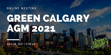 Green Calgary AGM 2021 tickets