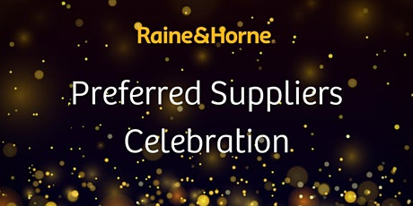 Raine & Horne Preferred Suppliers Celebration tickets