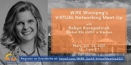 WiRE Winnipeg Virtual Networking Meet-Up tickets