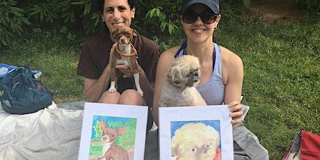 Paint and Sip Pet Portrait Picnic- Central Park New York tickets