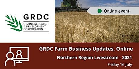 GRDC  North Livestream - 16 July 2021 tickets