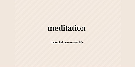 Mindful Monday Meditation Online tickets