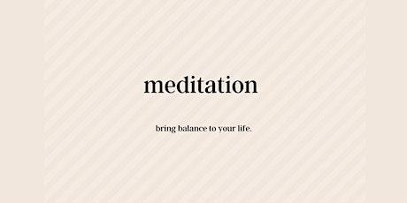 Mindful Monday Meditation Online tickets