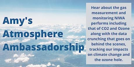Amy's Atmosphere Ambassadorship tickets