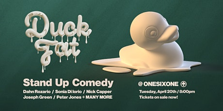 Duck Fat Comedy tickets