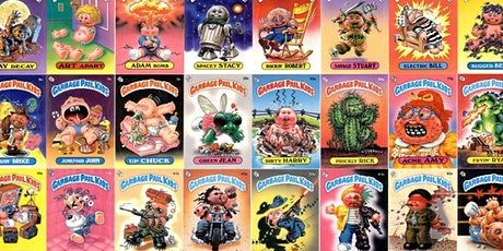 Drink and Draw with Tai - Garbage Pail Kids Drawing tickets