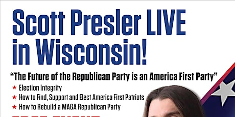 Scott Presler LIVE - Wisconsin tickets