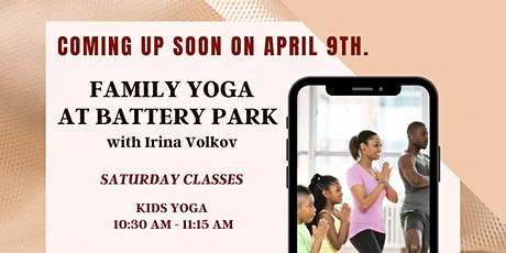 Family Yoga at Battery Park tickets